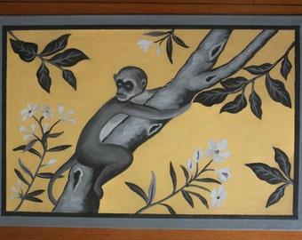 raymond waites monkey wallpaper