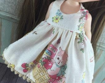 Blythe Dress - Retro Kitty