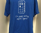 Blue Doctor Who Shirt