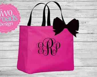 Monogram Tote Bag / Wedding Tote / Bridesmaid Tote /