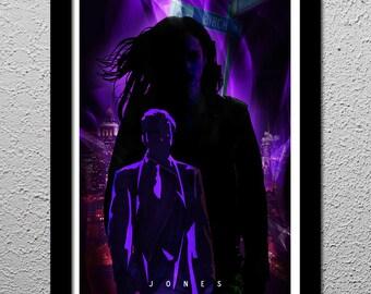 Jessica Jones - Krysten Ritter - Marvel - Original Minimalist Art Poster Print