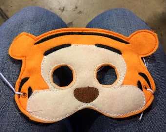 Tigger mask, Winnie the Pooh, Costume Mask