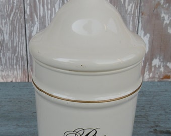 Pro Dolore , meaning For Pain , Darvoset Promo jar , 1950's drugstore collectable