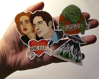 Stickers // X-FILES