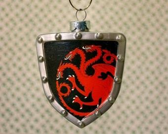 Game of Thrones Targaryen House Sigil Shield