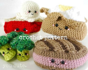CROCHET PATTERN- Amigurumi Supper Club-