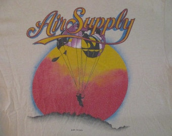 AIR SUPPLY 1983 tour T SHIRT