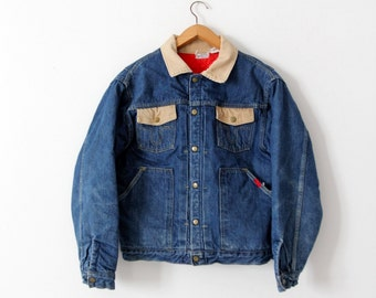 vintage Buckaroo by Big Smith denim jacket, 50s barn coat