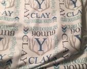 Personalized BABY fleece  Blanket