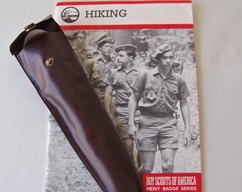 Vintage Boy Scouts Of America Utensil Set Hiking Book Merit Badge Series 1987