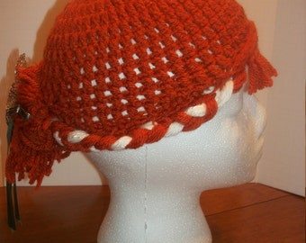 Crochet Frozen-Anna's Coronation Day Hair Hat (A40)