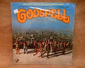 S...SEALed...Godspell - Original Motion Picture Soundtrack - 1973 Vintage Vinyl Record Album