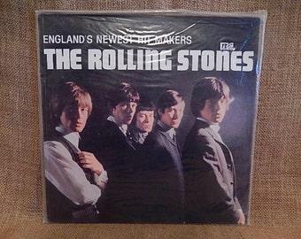 The ROLLING STONES - England's Newest Hit Makers - 1964 Vintage Vinyl  Record Album...No Bonus Photo