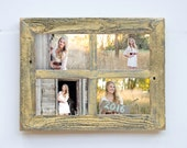 """2"""" 5x7 Barn Window Collage Picture Frame-Christmas Gift-Rustic Picture Frame-Reclaimed-Cottage Chic-Collage Frame-Picture Frames"""