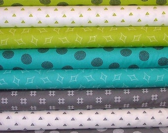 Go Big or Go Home!! Fat Quarter Bundle of 8 by Another Point of View for Windham Fabrics