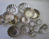 Vintage Tart Tins Mini Pastry Molds