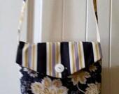 Messanger Bag Stripe and Floral