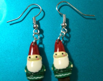 Magical Gnome earrings.