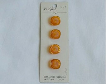Vintage Buttons... Set of 4