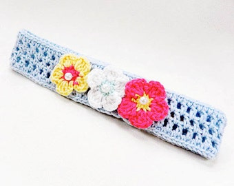 Headband, crocheted headband, baby headband, baby accessories, baby girl gift, READY TO SHIP