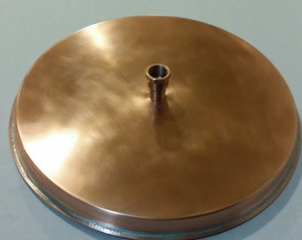 "12"" Copper  rain shower head"