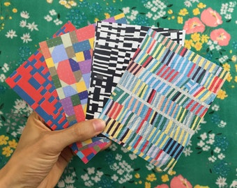 Quilt Cards with Envelopes (8)