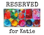 RESERVED FOR KATIE - Rainbow Tree Ornament