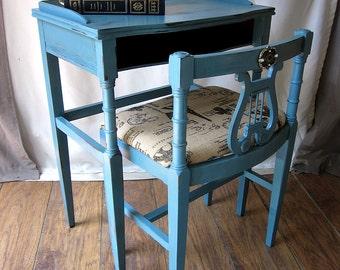 Vintage Telephone Table ~ Desk ~ Girls Room