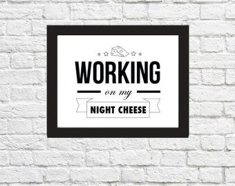 30 Rock  NIGHT CHEESE Digital Download Print
