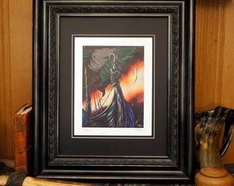 Dragon Ship - Limited Edition Fine Art Print
