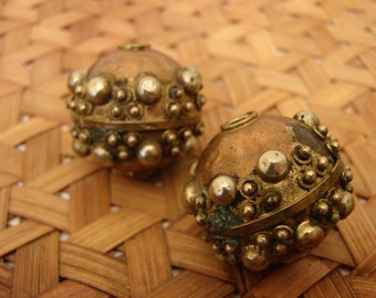 Vintage Copper and Brass Beads
