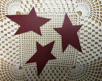 Primitive Metal Star Cutouts
