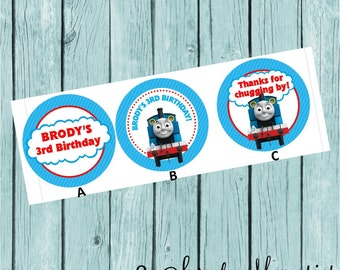 Thomas the Train Favor Tags/Stickers