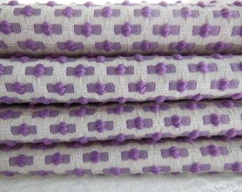 Purple Napkins - Lilac Napkins - Jacquard Dots Napkins - Cloth Purple Napkins - Textured Lavender Napkins  Set of Four - Pillowscape Designs