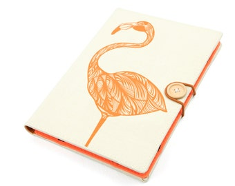 Flamingo / iPad mini case, Kindle case, iPad mini cover, kindle cover, Kindle paperwhite case, voyage Kobo Sony Z3 2 3 case cover handmade