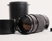 Jupiter-37A 3.5 135mm M42 best Russian portrait Lens in Case with Caps