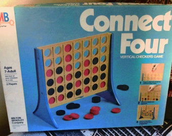 1979 Milton Bradley Connect Four Game.   Made in USA.  Y-221