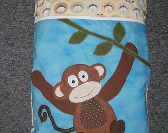 Monkey Baby/Infant Pillowcase Sleeping Bag/Sack/Nursing Pillow