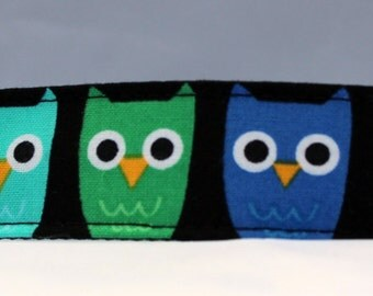 Dog Collar, Martingale Collar, Cat Collar - All Sizes - Owls