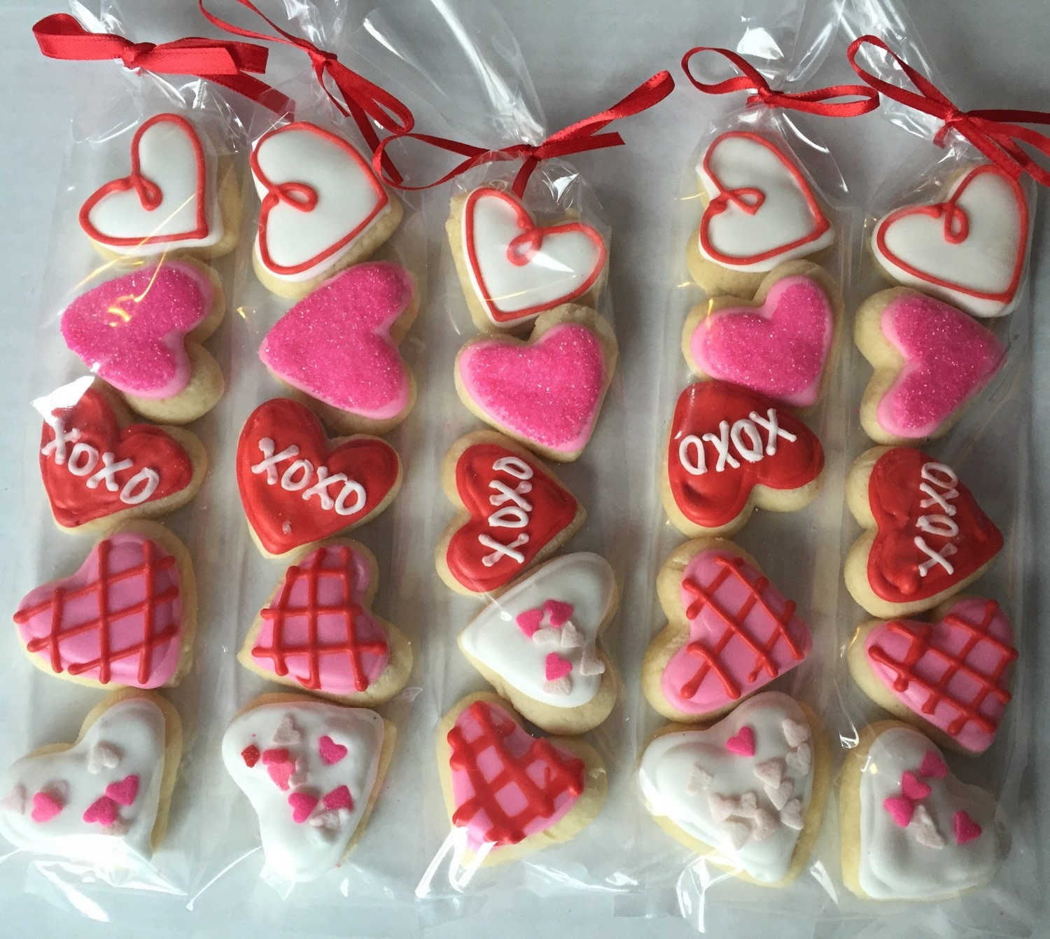 Valentine S Day Sugar Cookie Gift Party Favor Heart