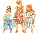 New Look 6369 For Kids Childs Dress or Jumper Sizes 3-8 Uncut Pattern FF
