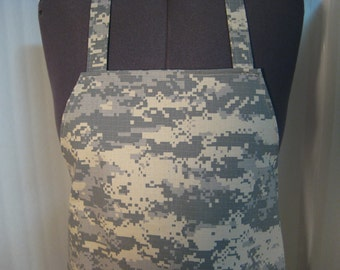 Army Camouflage Adult Apron