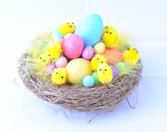 Easter Egg Nest Fascinator