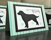 Dog Condolence Card, Dog Sympathy Card, Pet Sympathy Card