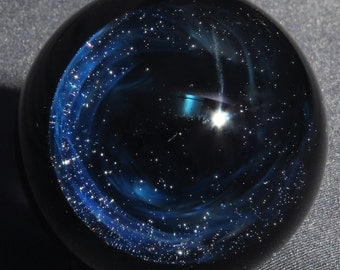 Dark Wormhole Glass Marble