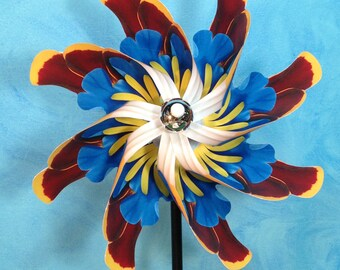 Arizona  Wildflower Pinwheel Spinner