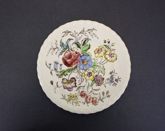 Vintage Vernon Kilns 'Mayflower' Medium Plate (E133)