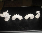 Fantastic Paint Your Own 4 piece Highly detailed nautical SEA SERPENT loch ness