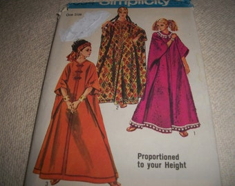 Woman's Caftan Pattern