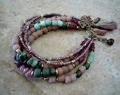Bohemian Bracelet /Gypsy/ Bohemian Bracelet/ Gypsy Bracelet /Boho Bracelet / Gypsy Jewelry  / Woman Bracelet / Multi Strand Bracelet / Gypsy